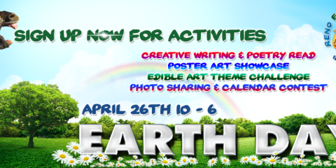 Reno Earth Day   Sunday  April 26  2015   10am 6pm   Idlewild Park  Reno  NV
