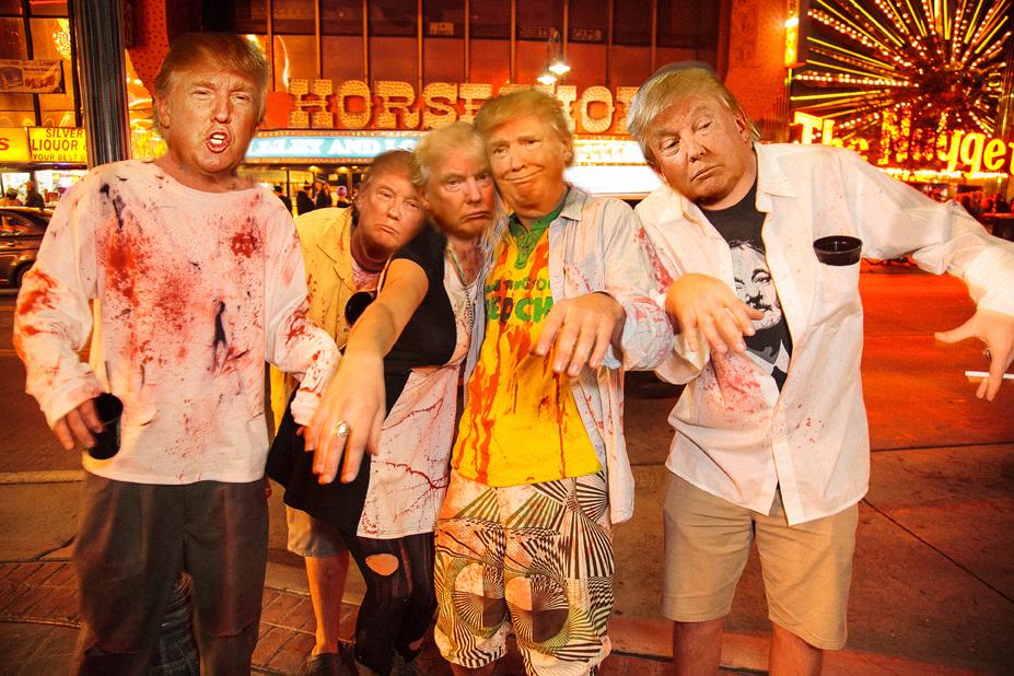 Trump Crawl - Artist Rendition - Credit Crawl Reno 1