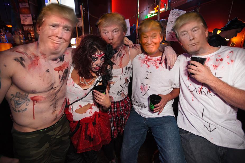 Trump Crawl - Artist Rendition - Credit Crawl Reno 2